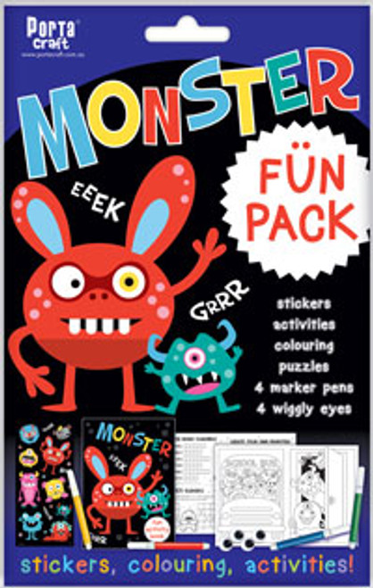 Activity Fun Pack Monster x4 (Product # 143704)