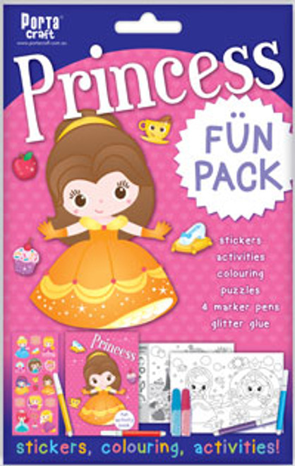 Activity Fun Pack Princess x4 (Product # 143742)
