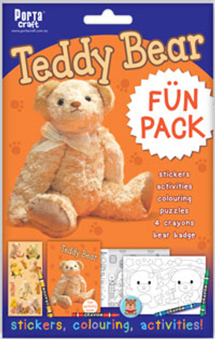 Activity Fun Pack Teddy Bear x4 (Product # 143896)