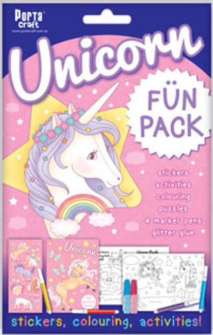 Activity Fun Pack Unicorn x4 (Product # 143919)