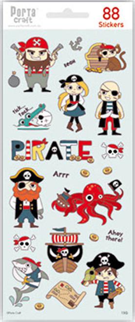 Sticker Sheets #13 Sea (Design Q) 4 Sheets (Product # 128152.13Q)