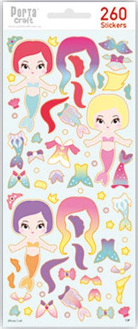 Sticker Sheets #13 Sea (Design P) 4 Sheets (Product # 128152.13P)