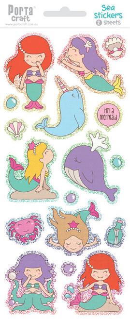 Sticker Sheets #13 Sea (Design K) 2 Sheets (Product # 128152.13K)