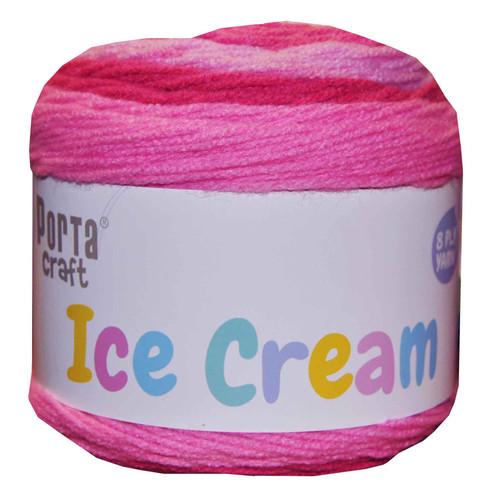 Ice Cream Yarn  200g 380m Pink Haze (Product # 149560)
