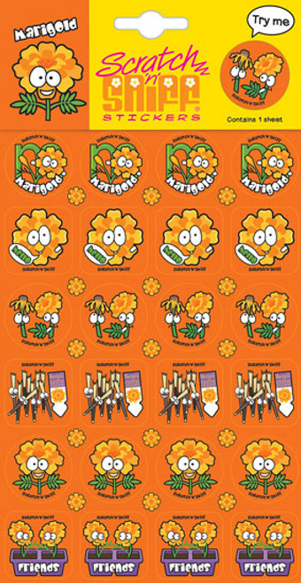 Scratch N Sniff Stickers - Marigold Scented (Product # 167038)