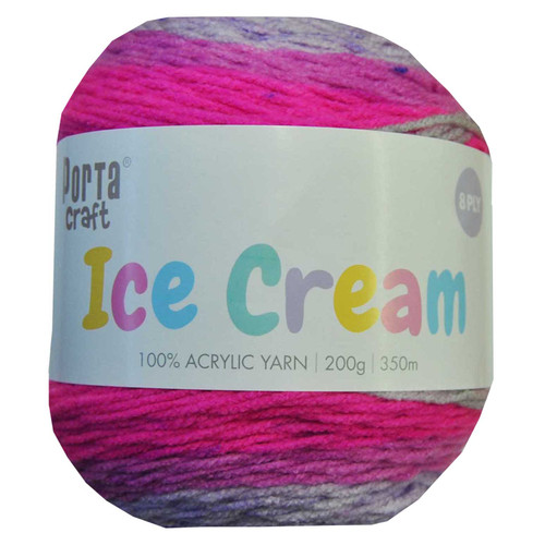 Ice Cream Yarn 200g 350m Lilac Frost (Product # 156421)