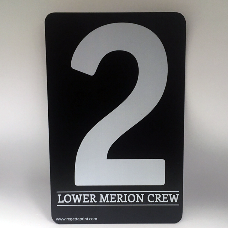 """Sprint """"Camera"""" Bow Number Sets-Personalized"""