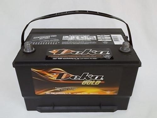 Deka 665MF, Group 65 Battery, 875 CCA