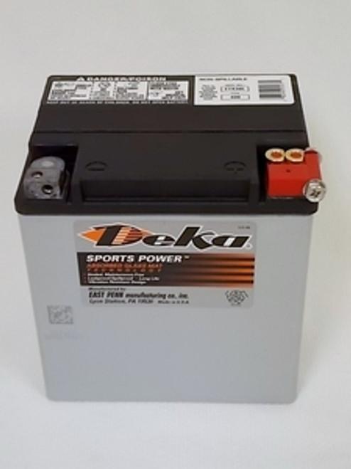 Deka ETX30L,  Motorcycle Battery, 400 CCA