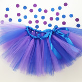 Two-Color Tutu with Matching Ribbon Bow