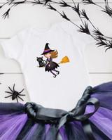 Halloween Baby Witch Tutu Set