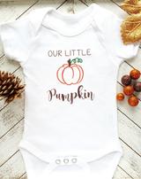 Our Little Pumpkin Baby Gift
