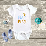 Baby Boy Nap King Bodysuit