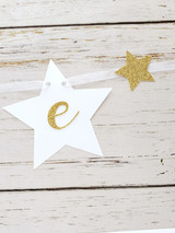 Twinkle Little Star First Birthday Banner