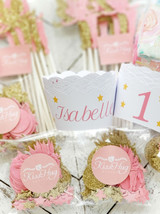 Everything you need for the perfect Pink and Gold Fairy Party