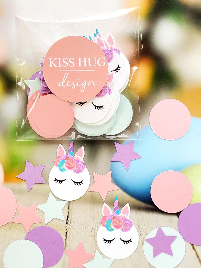 Unicorn Confetti - Pastel