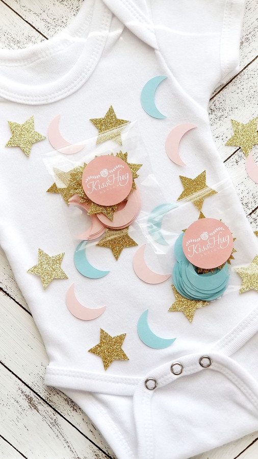 Twinkle Little Star Gender Reveal Confetti