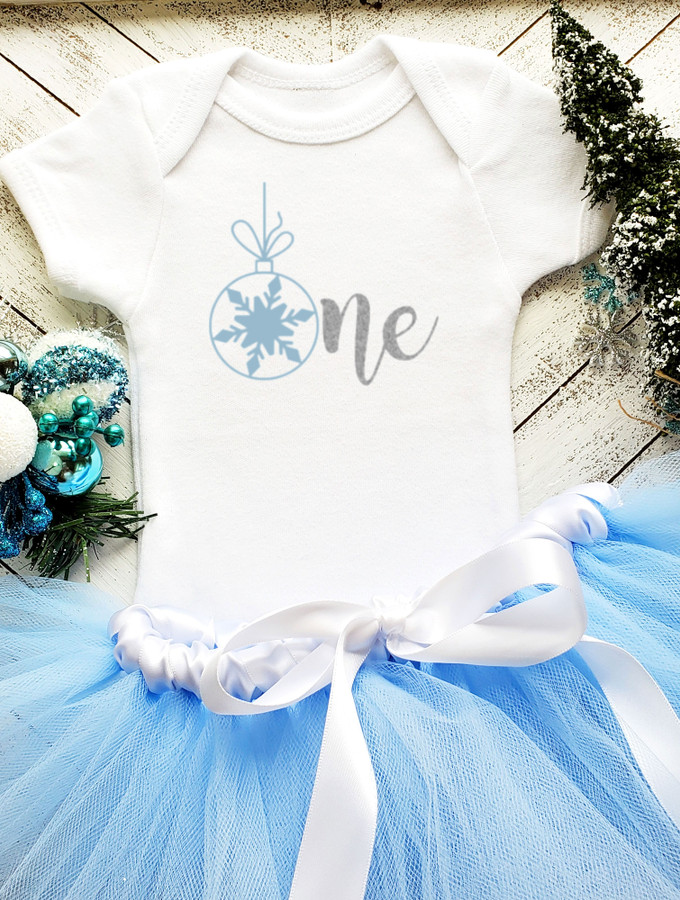 Christmas Onesie Tutu Set