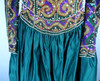 1980s Naeem Khan for Bergdorf Goodman Medieval Style Beaded Gown