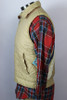 Vintage 1980s Chevron Back Quilted Men's Vest