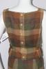 Vintage 1960s Jo Collins Plaid Wool Skirt and Vest