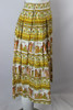 Vintage 1960s Mousky Chic - The Nile Hilton Egyptian Graphic Skirt