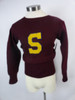 "Men's Vintage 30's ""Rugby"" Heavy Knit Sweater"