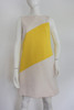 "1990's ""Dolce & Gabbana"" Yellow & White Shift Dress"