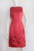 "80's ""Oscar de La Renta"" Satin 2Pc Dress & Jacket"