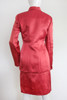"ON SALE 80's ""Oscar de La Renta"" Satin 2Pc Dress & Jacket"