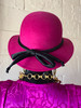 Liz Claiborne 1980's Wool Fuchsia Hat