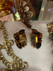 Juliana 2pc. Topaz & Tiger's Eye Pendant & Earrings