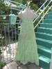 SOLD 1970s Liza by Lilly Pulitzer Lime&Yellow Floral Long Dress