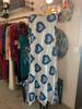 Marimekko Reversible Blue Heart w/ Dots Print Dress