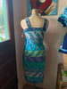 Emilio Pucci Terry Cloth Panel Dress