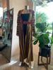 Turkoman Striped Coat w/ embroidery