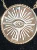 Evil Eye Circle Necklace