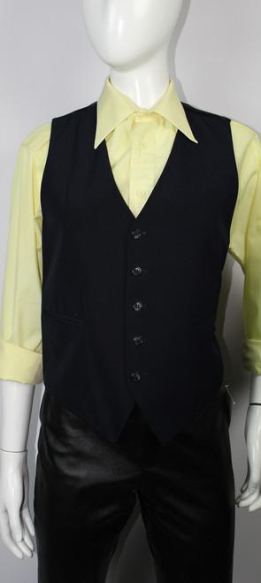 Vintage 1970s Avgvstvs Navy Men's Vest