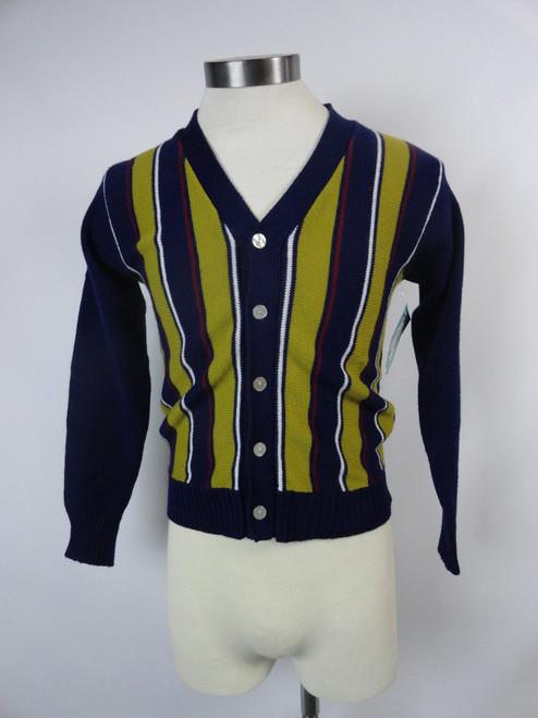"Men's Vintage 60's  ""Campus"" Cardigan SOLD"