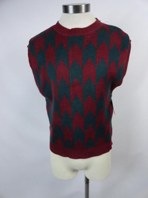 """Men's Vintage 80's """"Perry Ellis"""" Sweater Vest"""