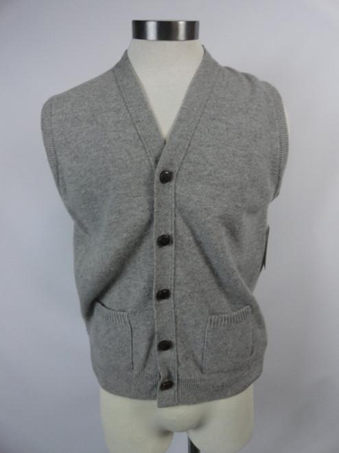 "Men's Vintage 60's ""Lord Jeff"" Lambs Wool Sweater Vest"