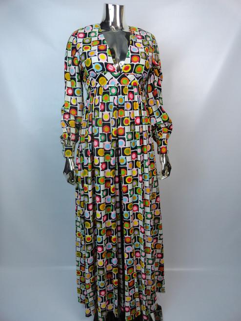Vintage 1970's Multi-Colored Circle Jumpsuit SOLD
