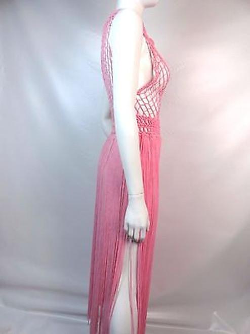 "Vintage 60's/70's ""Neiman Marcus"" Pink Crochet Swim Cover Up SOLD"