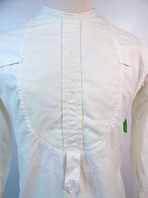 "Vintage 30's ""J H McIntyre & Co"" Men's Bibbed Shirt"