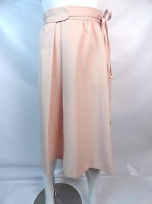 """70's """"Panther"""" Pink Wrap Skirt"""