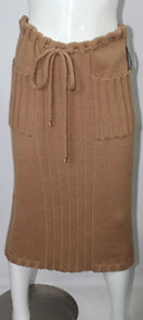 Vintage 1970s Missoni Cable Knit Skirt SOLD
