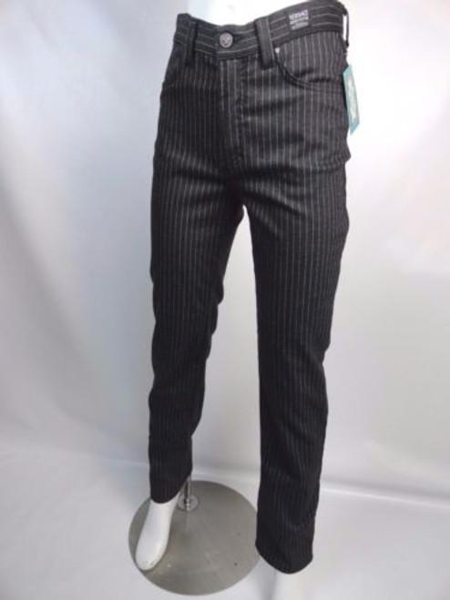 Vintage 90's Versace Jeans Couture Pen Striped Jeans