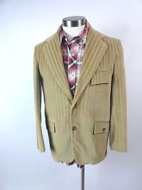"Vintage 70's ""Brad Dawson"" Corduroy Blazer"