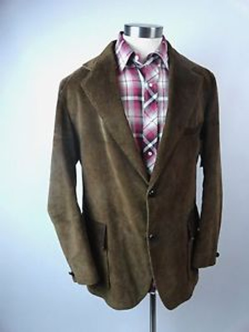 "Vintage 70's ""Sears"" Brown Cordury Blazer"