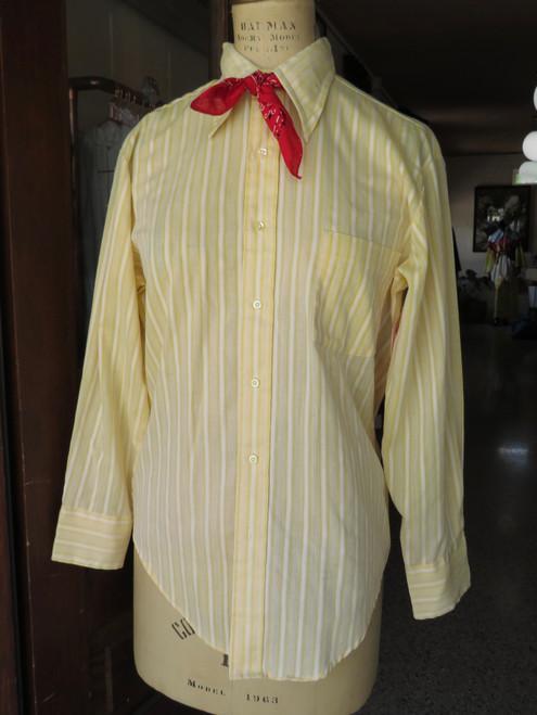 Townscraft Yellow Stripe Shirt